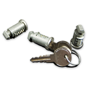 RockyMounts Three Lock Cores and Keys 0333