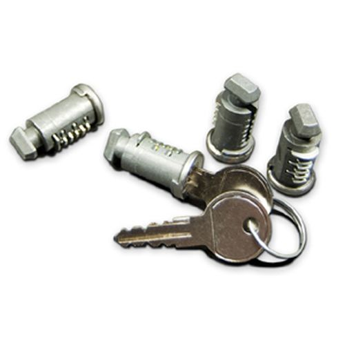RockyMounts Four Lock Cores and Keys 0334
