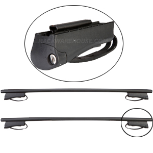 RockyMounts Nissan Frontier 4 Door Crew Cab Raised Rails 2000-2004 3002c Flagstaff Car Roof Rack