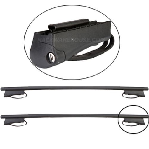 RockyMounts Nissan Versa 5 Door Raised Rails 2005-2008 3002c Flagstaff Car Roof Rack