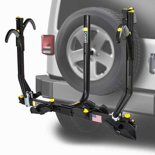 Saris 4025tb Freedom SuperClamp 2 Bike Spare Tire Rack, Video Item, 30% Off