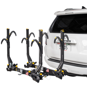 Saris 4026 Freedom SuperClamp 4 Bike Platform Style Trailer Hitch Mount Bicycle Racks