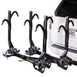 Saris 4026f Freedom SuperClamp EX 4 Bike Platform Hitch Bicycle Racks