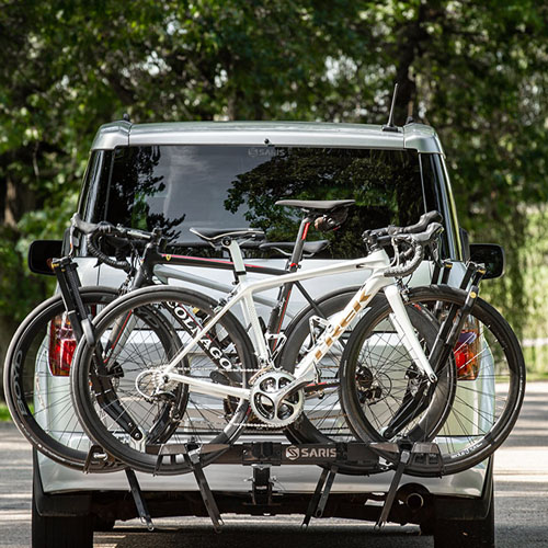 Saris 4026f Freedom SuperClamp EX 4 Bike Platform Style Trailer Hitch Bicycle Racks