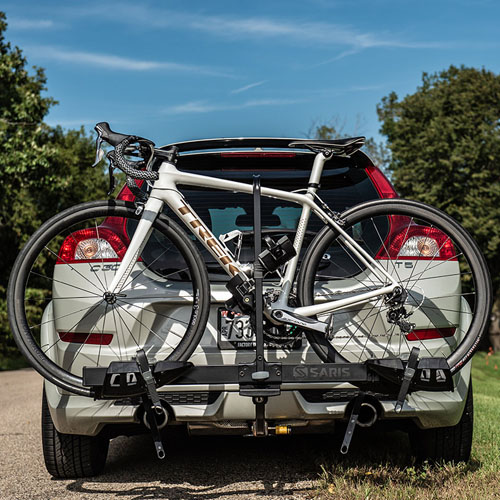 Saris 4412F Freedom EX 2 Bike Platform Style Trailer Hitch Bicycle Racks