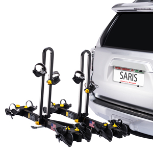 Saris 4414b Freedom 4 Bike Platform Style Trailer Hitch Mount Bicycle Racks