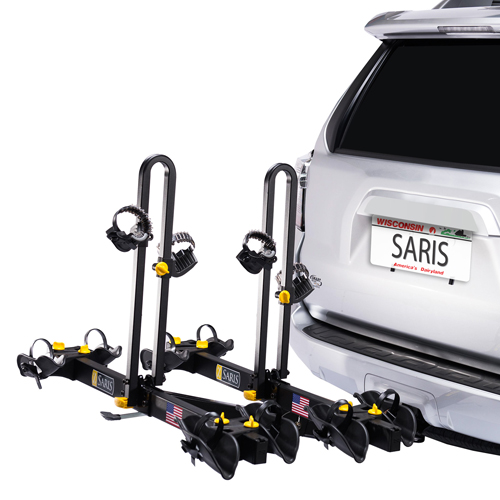 Saris Freedom 4 Bike 4414b Platform Style Trailer Hitch Mount Bicycle Racks