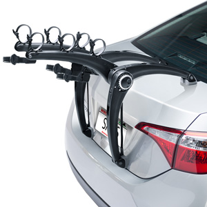 Saris SuperBones Black 3 Bike 802 Car Trunk Mount Bicycle Racks