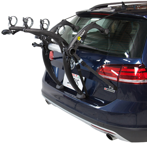 Saris Bones EX Black 3 Bike 803 Trunk Mount Bicycle Rack