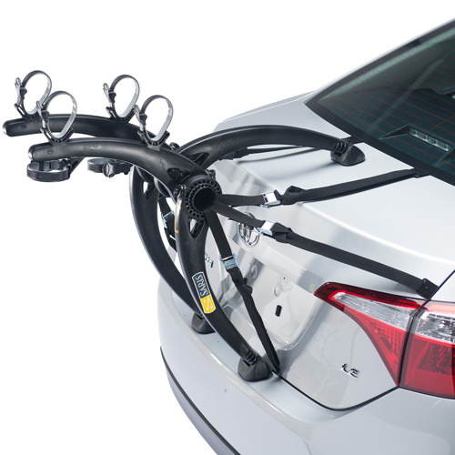 Saris Bones Black 2 Bike 805BL Car Trunk Bicycle Racks, Rebox Item