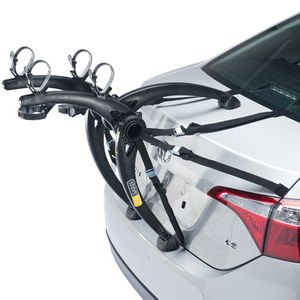 Saris Bones Black 2 Bike 805BL Car Trunk Mount Bicycle Racks