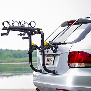 Saris 851b Bones RS 3 Bike Black Car Trunk Bicycle Rack - Reboxed