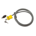 Saris 981 8 Foot Coated Stainless Steel Locking Cable and Keys