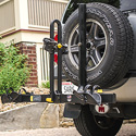 Saris 999tb Freedom 2 Bike Platform Style Spare Tire Mount Bicycle Racks