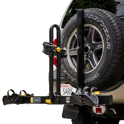 Saris Freedom 2 Bike 999tb Platform Style Spare Tire Bicycle Rack, New Return Item, 25% Off