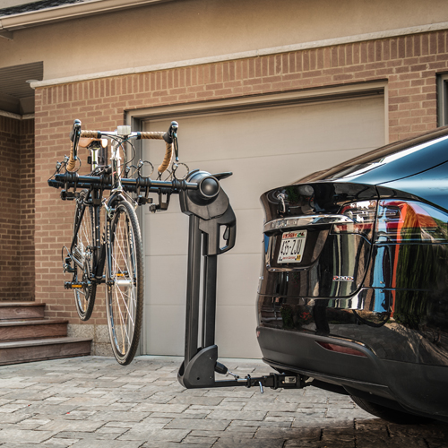 Saris Glide EX 4 Bike Tilt Away Hitch Mounted Bicycle Rack Carrier