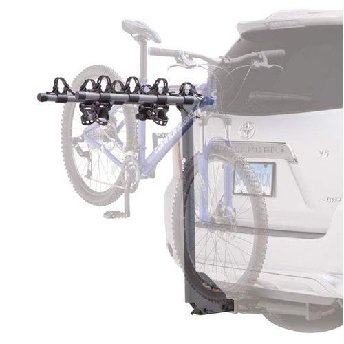 SportRack by Thule - Ridge 4 Bike sr2404b Non-Locking Trailer Hitch Mounted Bicycle Rack fits 1.25 and 2 Receivers