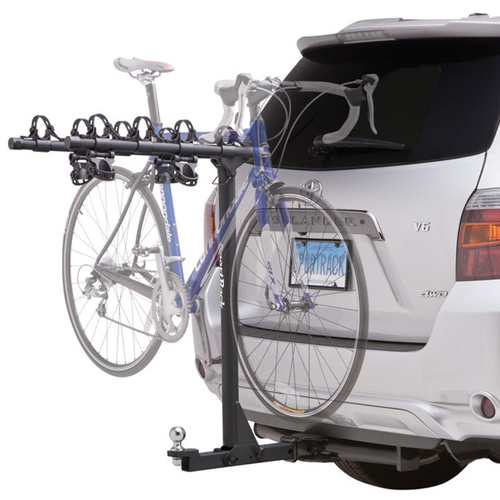 SportRack by Thule Ridge 4 Towing sr2414b 4 Bike Non-Locking Hitch Mounted Bicycle Rack