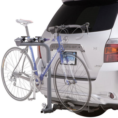 SportRack by Thule - Pathway Tow Ball 3 sr2513 3 Bike Trailer Hitch Mounted Bicycle Rack Fastens to Hitch Tow Ball Bolt