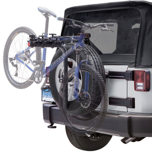 SportRack Pathway Spare Tire Deluxe 3 sr2813b 3 Bike Spare Tire Rack, 35% Off