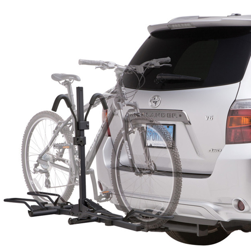 SportRack Crest 2 Bike sr2901b Platform Trailer Hitch Bicycle Rack