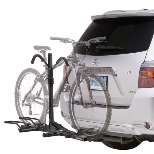 SportRack by Thule - Crest 2 Bike sr2901blr Locking Platform Style Trailer Hitch Bicycle Rack Fits 1.25