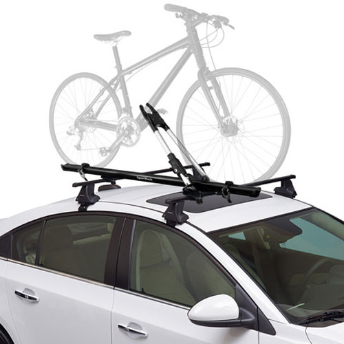 SportRack Upshift Plus sr4885 Locking Upright Bike Racks for Roof Rack