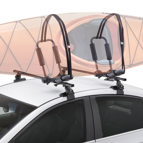 SportRack by Thule - Mooring Deluxe sr5513 Fold-Down J-Style Kayak Carrier for Car Roof Racks