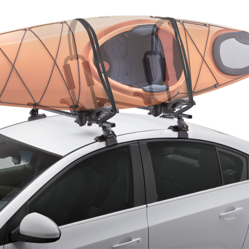 SportRack by Thule - Mooring 4-in-1 J-Style, Cradle, Flat SUP and Kayak Carrier sr5514 for Car Roof Racks
