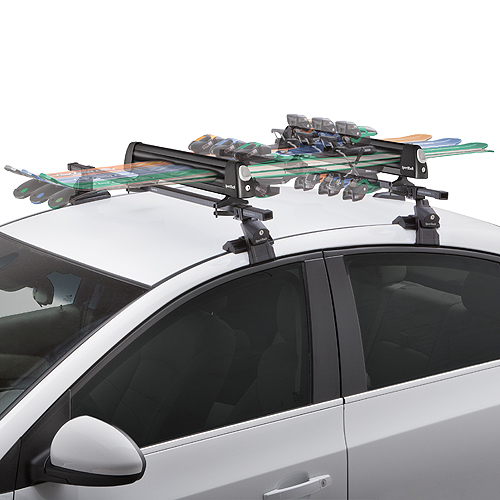 SportRack by Thule Groomer Deluxe sr6466 6 Pair Ski Rack 4 Snowboard Carrier