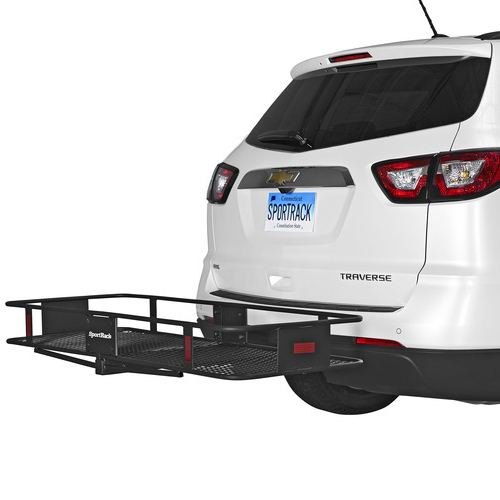 SportRack by Thule - Vista Trailer Hitch Receiver Cargo Basket Platform sr9849