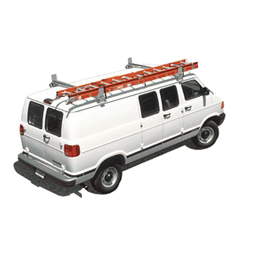 System One 3 Bar Full Size Van Utility Rig Ladder Racks