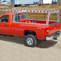 System One Aluminum Ladder, Utility, Work, Construction Racks for Pickup Trucks and Service Body Trucks