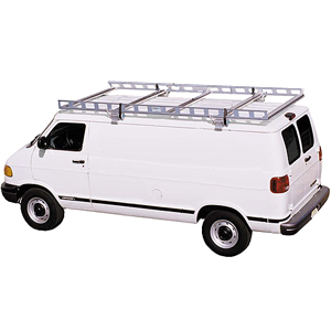 System One Full Size Van I.T.S. Contractor Rig Ladders & Utility Racks