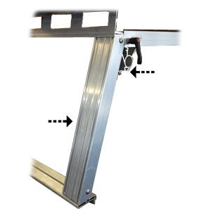 System One 19 Heavy Duty Legs l19h for System One Pickup Truck Racks