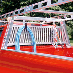 System One Pickup Truck Rack Cab Window Guard