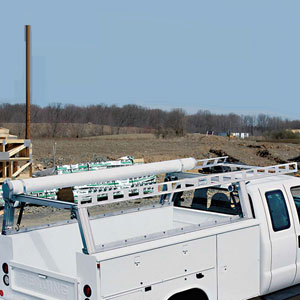 Service & Utility Body Truck Ladder Racks