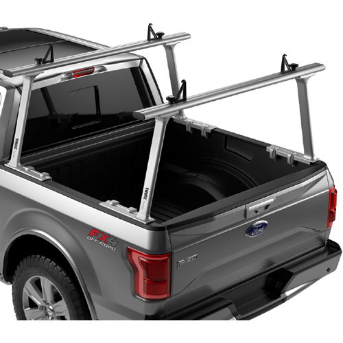 Thule TracRac TracOne 27000xt Silver 27000xtb Black Clamp-On Aluminum Pickup Truck Racks