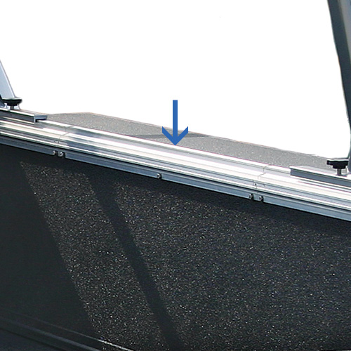 Thule TracRac Aluminum Extension Tracks for Sliding UtilityRac Truck Racks 28040