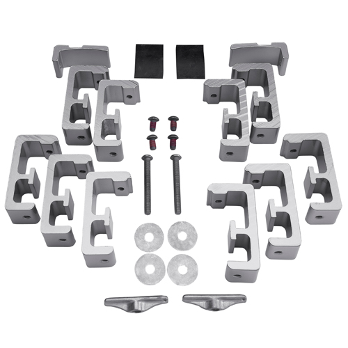 Thule TracRac Toyota Tacoma 2016+ Rack and Toolbox Mounting Kit 41501 for TracOne and T-Rac Pro2 Pickup Truck Racks, Rebox Item