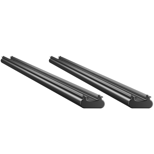 Thule TracRac Aluminum 2 Track Short Bed Base Rails for Sliding Thule TracRac Pickup Truck Racks