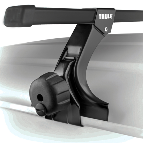 Thule 300c Complete Rain Gutter Mounted Car Roof Racks and Carriers