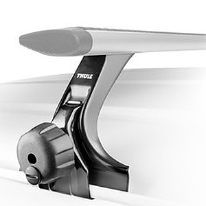 Thule 300r Rapid Rain Gutter Mounted Foot Pack For Car