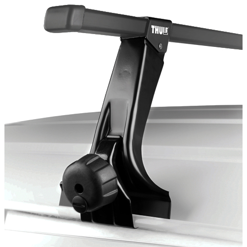 Thule Complete High Foot Rain Gutter Car Roof Racks and Carriers 387c