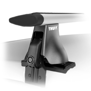 Thule 400xtrc Complete Rapid AeroBlade Car Roof Racks for Naked Roof-tops