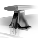 Thule Rapid Aero Foot Pack 400xtr for AeroBlade Roof Racks on Naked Roof-tops