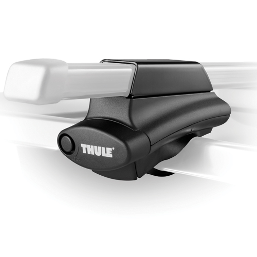 Thule Crossroad Half Foot Pack 4502 for 1 Bar Raised Railing Car Roof Crossbar Racks