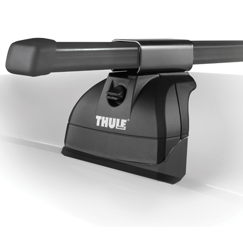 Thule 4602c Complete 1 Single Load Bar Podium Fixpoint or Flush Rail Roof Rack