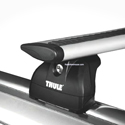 Thule 460rc Rapid Podium AeroBlade Complete Car Roof Crossbar Racks