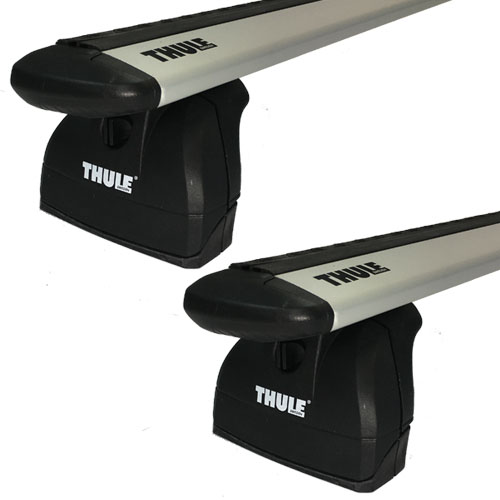 Thule Rapid Podium 460rc AeroBlade Complete Car Roof Crossbar Racks, Rebox Item